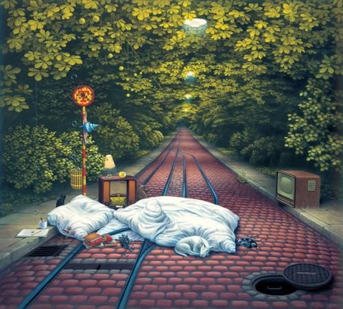 1 | Яцек Йерка - Jacek Yerka. Сюрреализм | ARTeveryday.org