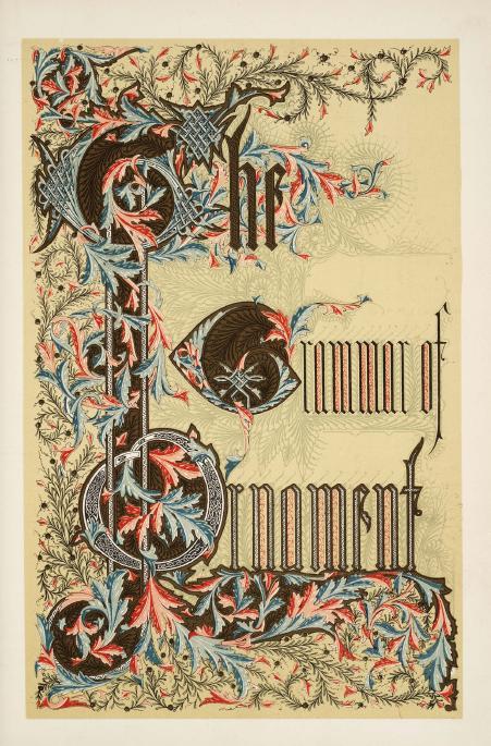 1 | The Grammar of Ornament - Грамматика орнамента | ARTeveryday.org