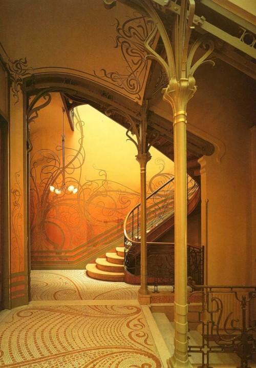 1 | Виктор Орта - Victor Horta. Архитектура модерна | ARTeveryday.org