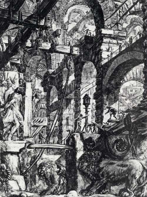 1 | Giovanni Battista Piranesi - Джованни Баттиста Пиранези. Архитектурная графика | ARTeveryday.org