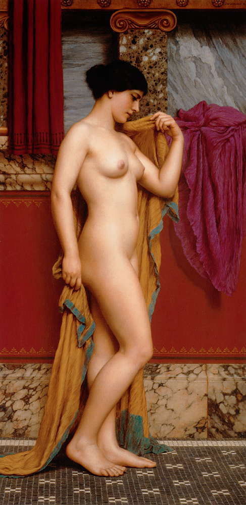3 | Джон Уильям Годвард - John William Godward. Прерафаэлитизм | ARTeveryday.org