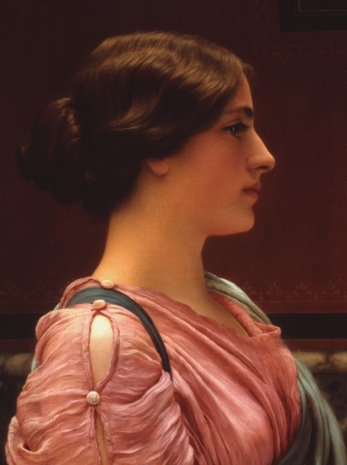 5 | Джон Уильям Годвард - John William Godward. Прерафаэлитизм | ARTeveryday.org