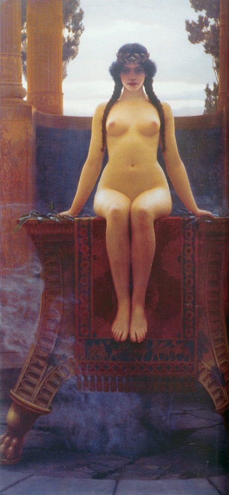 1 | Джон Уильям Годвард - John William Godward. Прерафаэлитизм | ARTeveryday.org