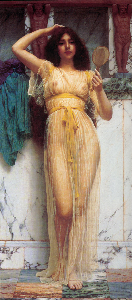 6 | Джон Уильям Годвард - John William Godward. Прерафаэлитизм | ARTeveryday.org