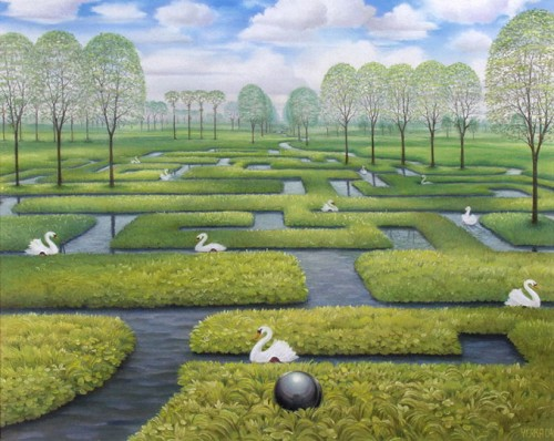 7 | Яцек Йерка - Jacek Yerka. Сюрреализм | ARTeveryday.org