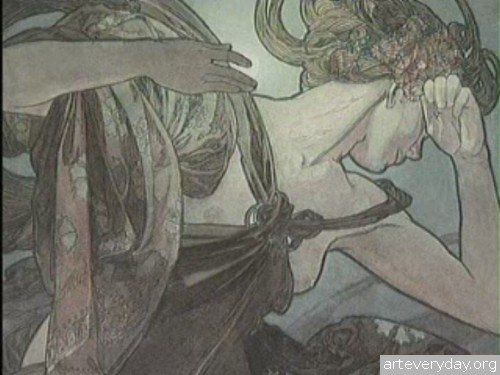 Doc_Film_Alphonse_Mucha_4 | Альфонс Муха - Провидец Арт Нуво | ARTeveryday.org