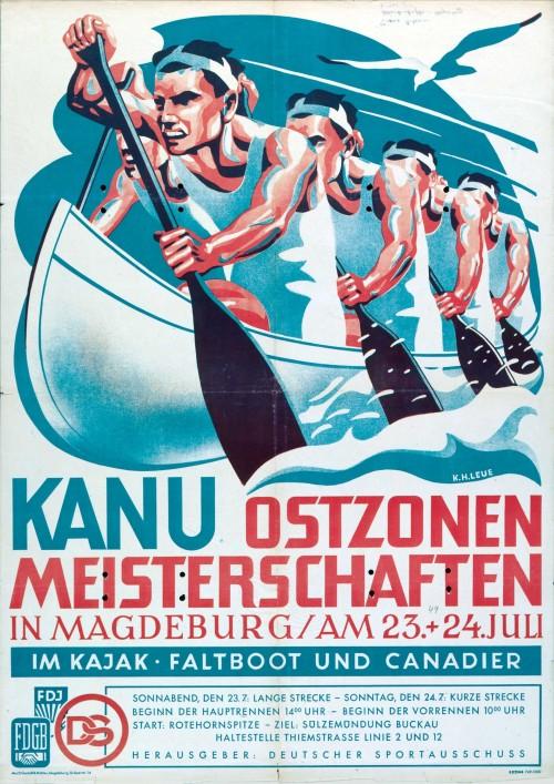 1949. Чемпионат Восточной Зоны по каноэ.