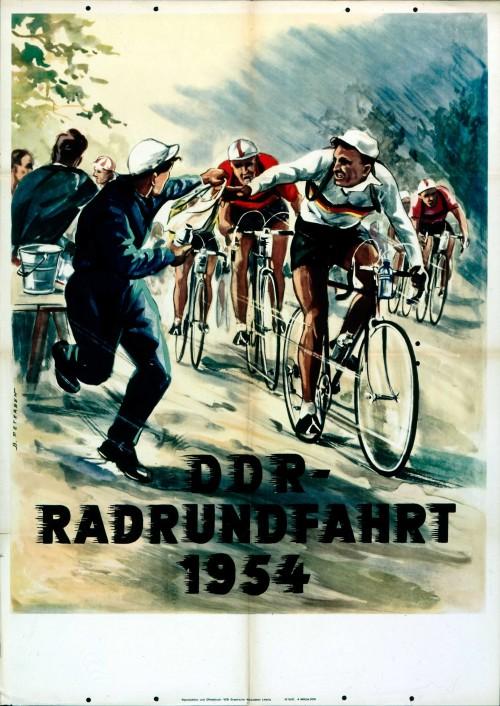 1954. Велопоездка по ГДР.