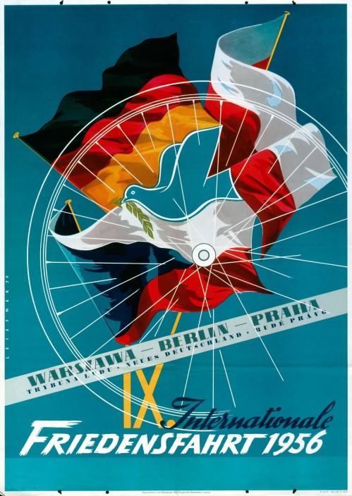 1956. Международная велопоездка Мира.