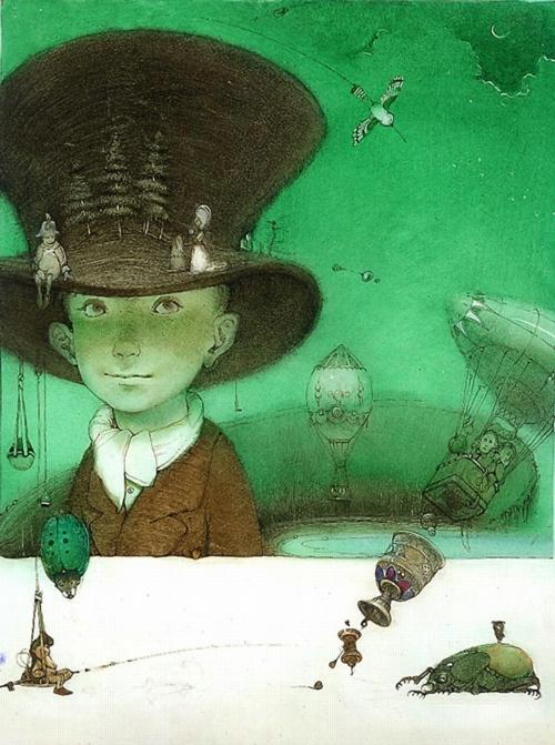 4 | Кирилл Чёлушкин. Сказочные иллюстрации | ARTeveryday.org