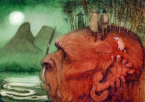 6 | Кирилл Чёлушкин. Сказочные иллюстрации | ARTeveryday.org