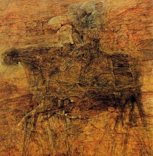 beksinski-kartiny-16 | Здислав Бексински - Zdzisław Beksiński. Поэзия после Освенцима | ARTeveryday.org