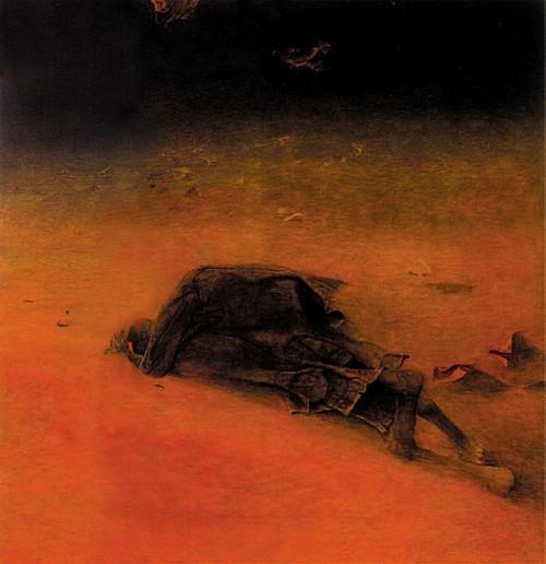 beksinski-kartiny-7 | Здислав Бексински - Zdzisław Beksiński. Поэзия после Освенцима | ARTeveryday.org