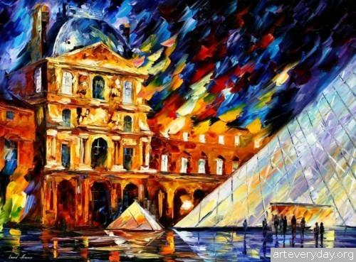leonid-afremov-19 | Леонид Афремов - Leonid Afremov. Импрессионизм | ARTeveryday.org