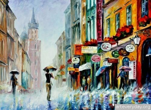 leonid-afremov-18 | Леонид Афремов - Leonid Afremov. Импрессионизм | ARTeveryday.org