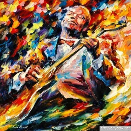 leonid-afremov-10 | Леонид Афремов - Leonid Afremov. Импрессионизм | ARTeveryday.org