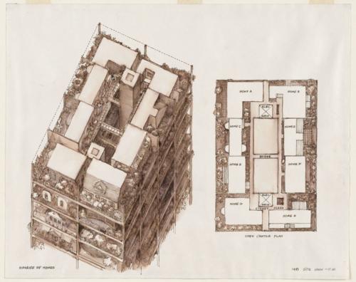 10 | Архитектурная графика. Часть2 | ARTeveryday.org