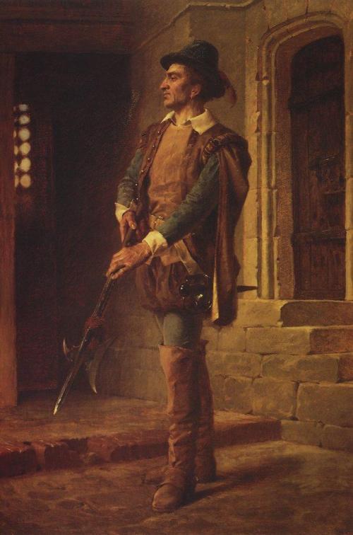 Гугенот. 1870 г | Василий Дмитриевич Поленов. Русский живописец | ARTeveryday.org