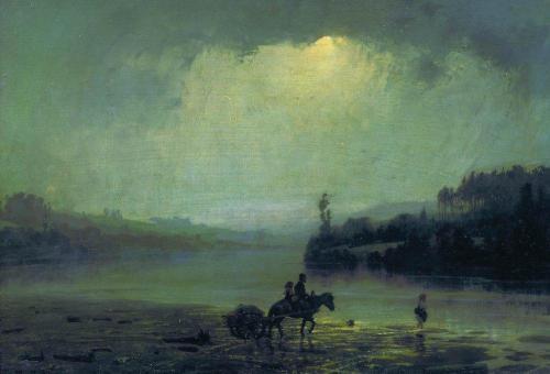 Ливень. 1874 г | Василий Дмитриевич Поленов. Русский живописец | ARTeveryday.org