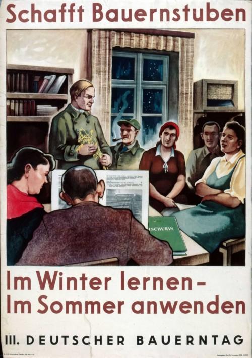 Немецкий фермер!Зимой учись - летом используй. 1951 г.