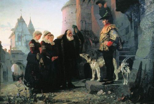 Право господина. 1874 г | Василий Дмитриевич Поленов. Русский живописец | ARTeveryday.org