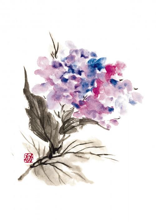 1 | Рицуо Сугияма. Японские акварели суми-э | ARTeveryday.org