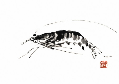 5 | Рицуо Сугияма. Японские акварели суми-э | ARTeveryday.org