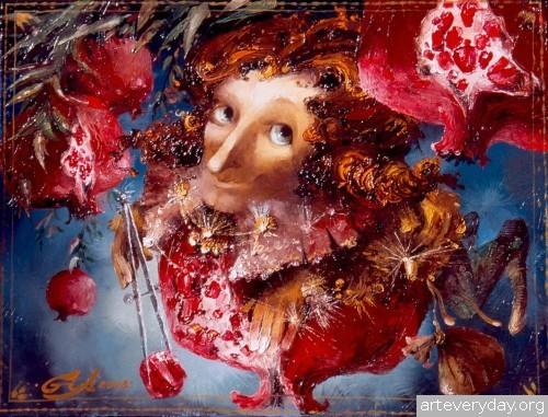 14 | Gia Chikvaidze-Гия Чикваидзе. Герои неизвестных сказок | ARTeveryday.org
