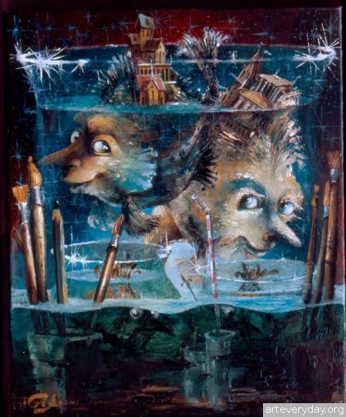 1 | Gia Chikvaidze-Гия Чикваидзе. Герои неизвестных сказок | ARTeveryday.org