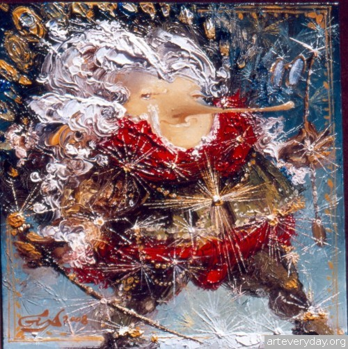 15 | Gia Chikvaidze-Гия Чикваидзе. Герои неизвестных сказок | ARTeveryday.org