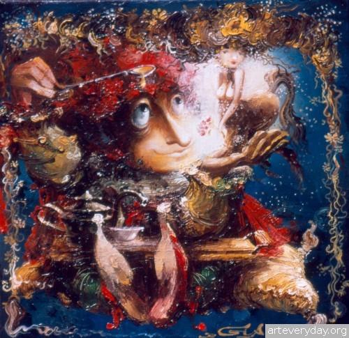 18 | Gia Chikvaidze-Гия Чикваидзе. Герои неизвестных сказок | ARTeveryday.org