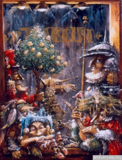 24 | Gia Chikvaidze-Гия Чикваидзе. Герои неизвестных сказок | ARTeveryday.org