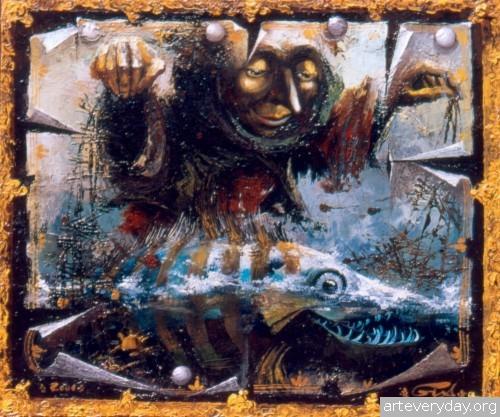 26 | Gia Chikvaidze-Гия Чикваидзе. Герои неизвестных сказок | ARTeveryday.org