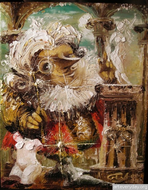 3 | Gia Chikvaidze-Гия Чикваидзе. Герои неизвестных сказок | ARTeveryday.org