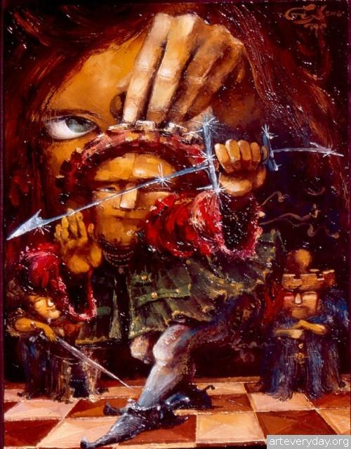 7 | Gia Chikvaidze-Гия Чикваидзе. Герои неизвестных сказок | ARTeveryday.org