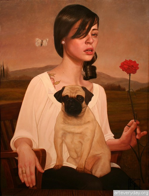 8 | Крис Льюис - Kris Lewis. Диалог с натурой | ARTeveryday.org