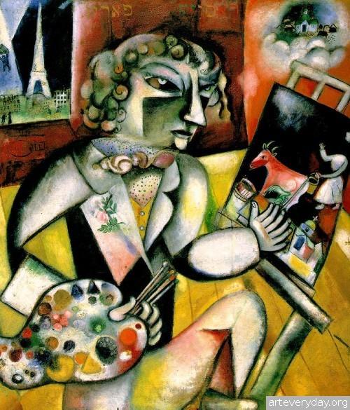 12 | Шагал Марк - Chagall Marc. Авангард | ARTeveryday.org