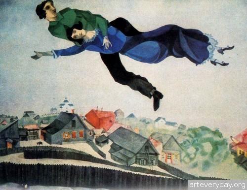 3 | Шагал Марк - Chagall Marc. Авангард | ARTeveryday.org