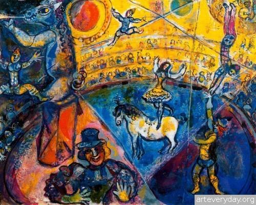 13 | Шагал Марк - Chagall Marc. Авангард | ARTeveryday.org