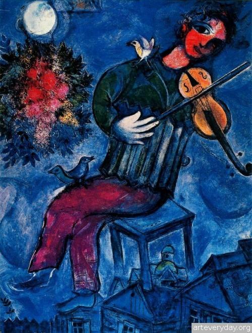 14 | Шагал Марк - Chagall Marc. Авангард | ARTeveryday.org