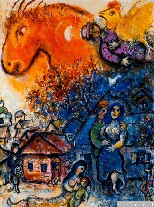 15 | Шагал Марк - Chagall Marc. Авангард | ARTeveryday.org
