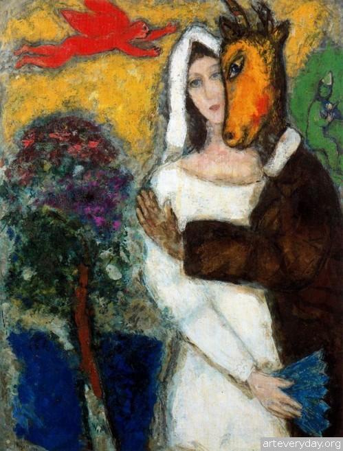 16 | Шагал Марк - Chagall Marc. Авангард | ARTeveryday.org