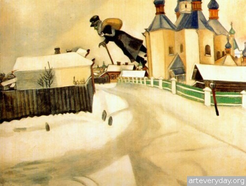 18 | Шагал Марк - Chagall Marc. Авангард | ARTeveryday.org