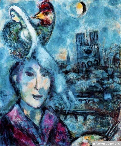 20 | Шагал Марк - Chagall Marc. Авангард | ARTeveryday.org