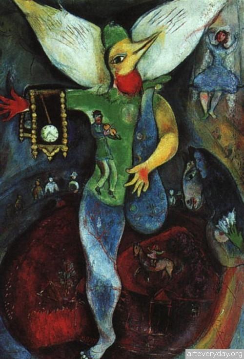 21 | Шагал Марк - Chagall Marc. Авангард | ARTeveryday.org