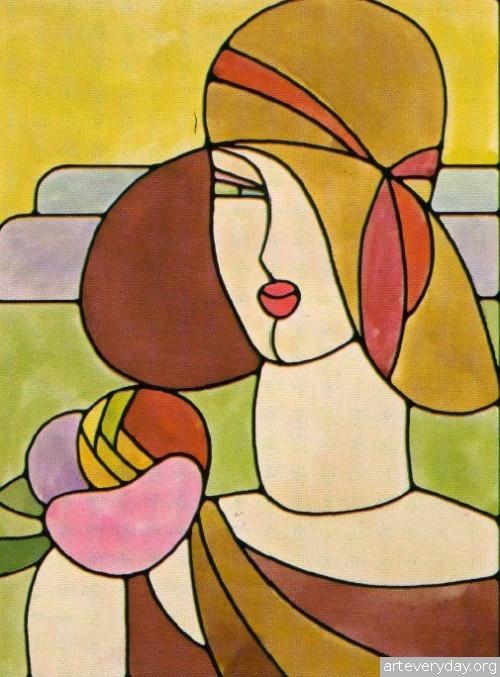 3 | Витражи в стиле Арт Деко - Art Deco | ARTeveryday.org