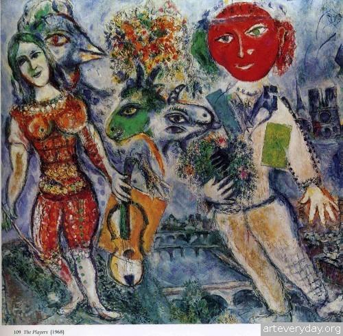 9 | Шагал Марк - Chagall Marc. Авангард | ARTeveryday.org
