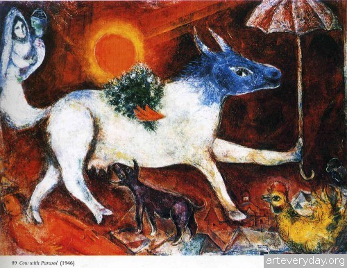 10 | Шагал Марк - Chagall Marc. Авангард | ARTeveryday.org