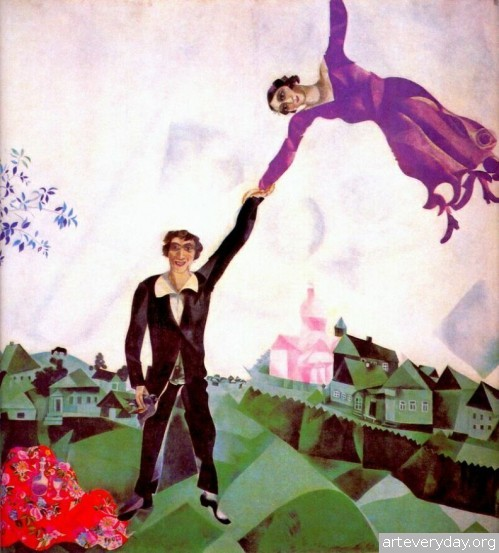 1 | Шагал Марк - Chagall Marc. Авангард | ARTeveryday.org