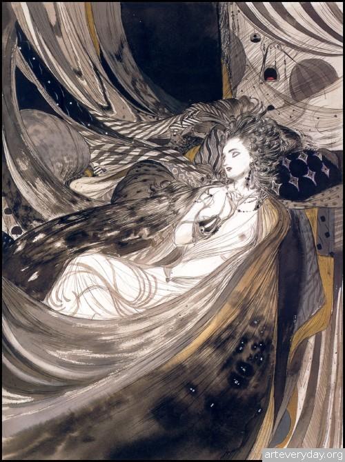 20 | Амано Еситака - Amano Yoshitaka. Безудержная фантазия | ARTeveryday.org